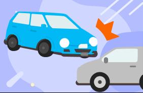 自動ブレーキを装備した自動車に乗ろう